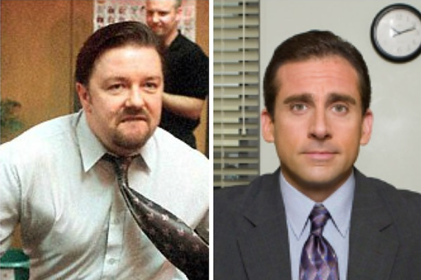 David Brent or Micheal Scott?  source: Buzzfeed's Maeve