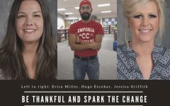 Be Thankful and Spark the Change!