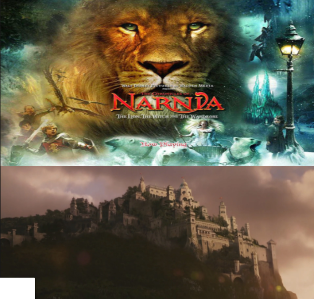 Cair+Paravel+is+the+castle+in+The+Chronicles+of+Narnia+%28below%29.+Above+is+a+picture+of+Aslan.%0ABoth+Pictures+Are+From+The+Lion%2C+The+Witch%2C+And+The+Wardrobe.