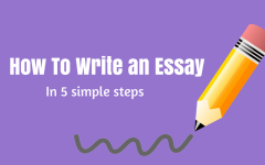 essay writing simple steps