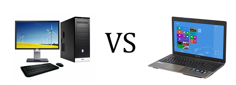 desktop vs laptops According to the source, desktop-pcs include desktops and dt & datacenter workstation, laptops include notebook computers and mobile workstations, tablets include detachable tablet and slate tablet.
