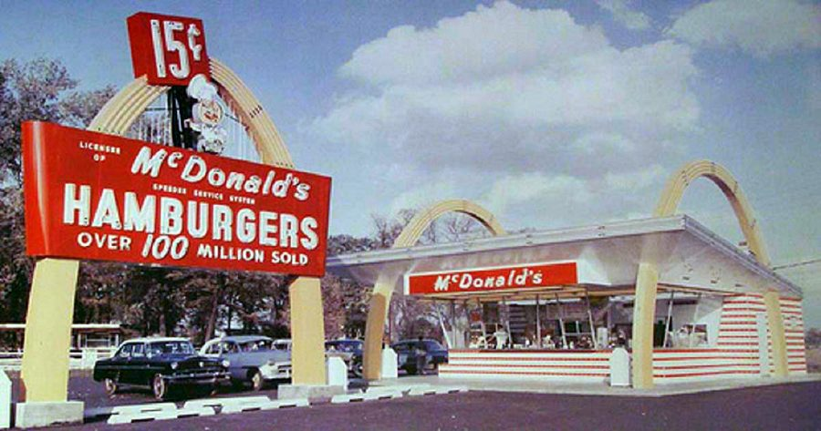 This is an old McDonald's. Source: Flickr