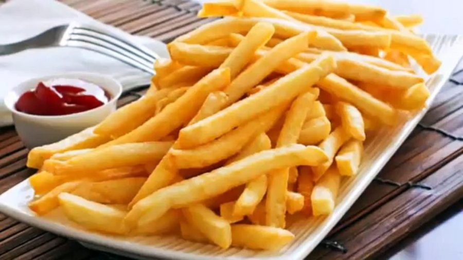 An image of french fries. Source: Areachops.com