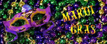 The colors of Mardi Gras