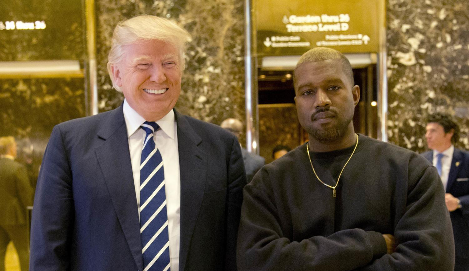Kanye and Trump 2018  -CNN.com