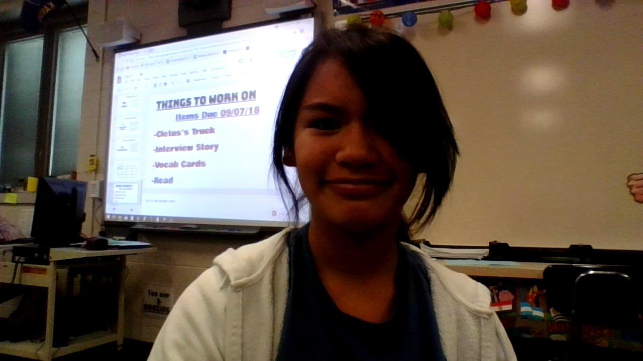 Jasmine Grundleger: 7th Grader at Emporia Middle School