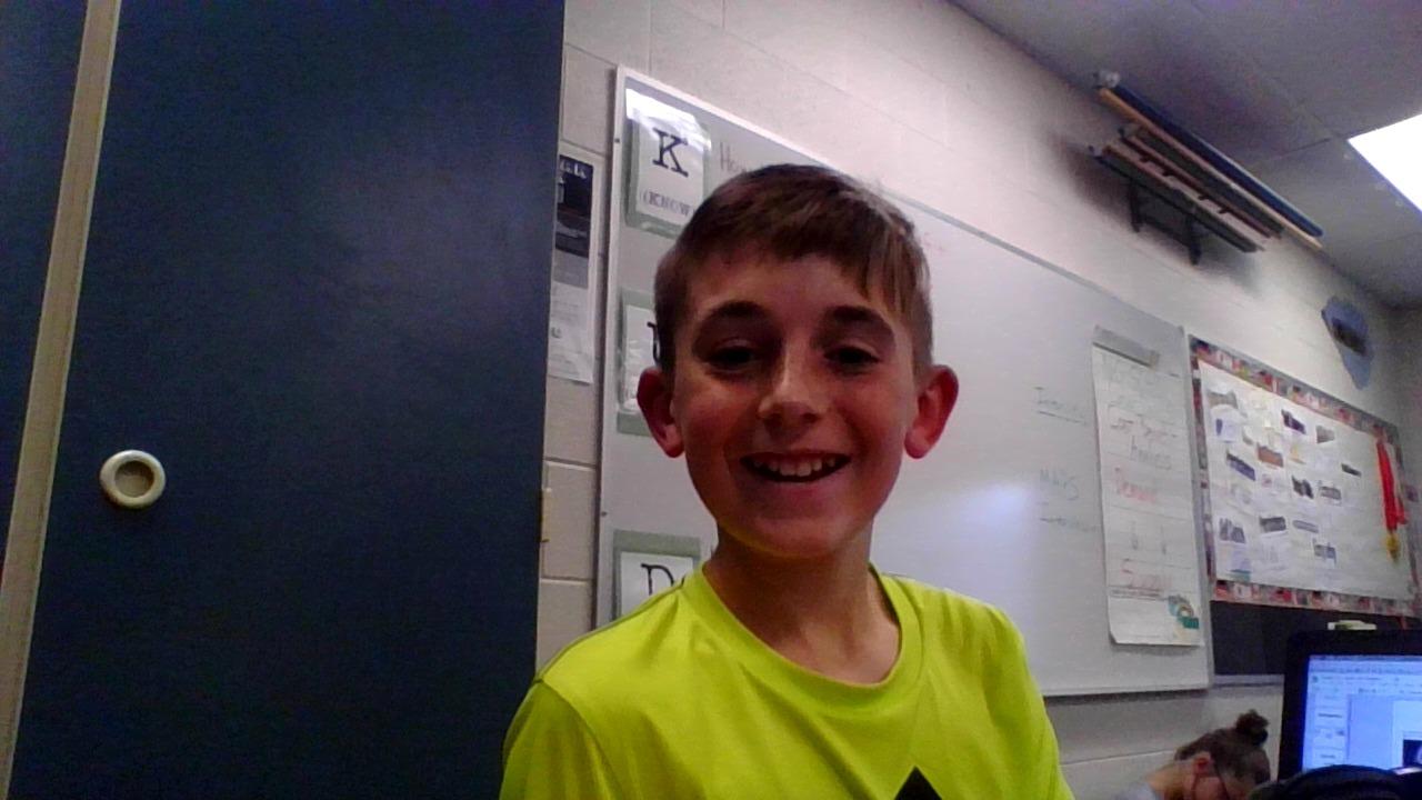 7th grade football player Braden Ary