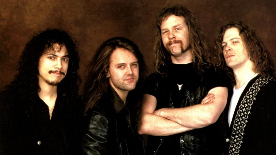 Metallica+in+the+early+1990s