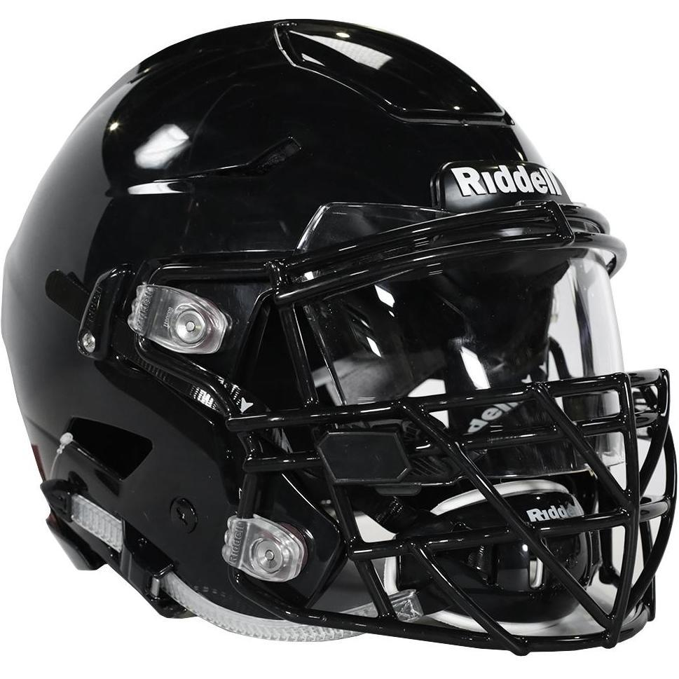 This is one of the helmets that many colleges and high schools use