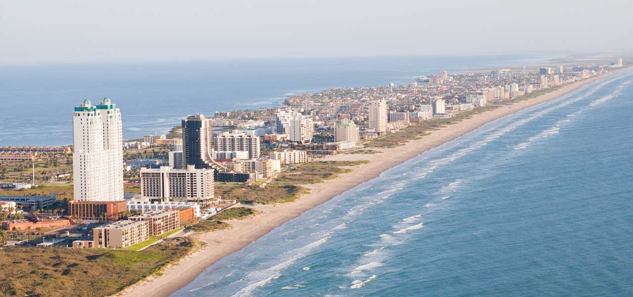 South Padre Island in Texas