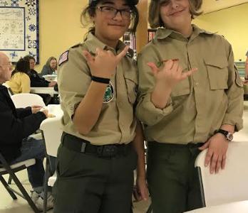 Boy Scout Pancake Day