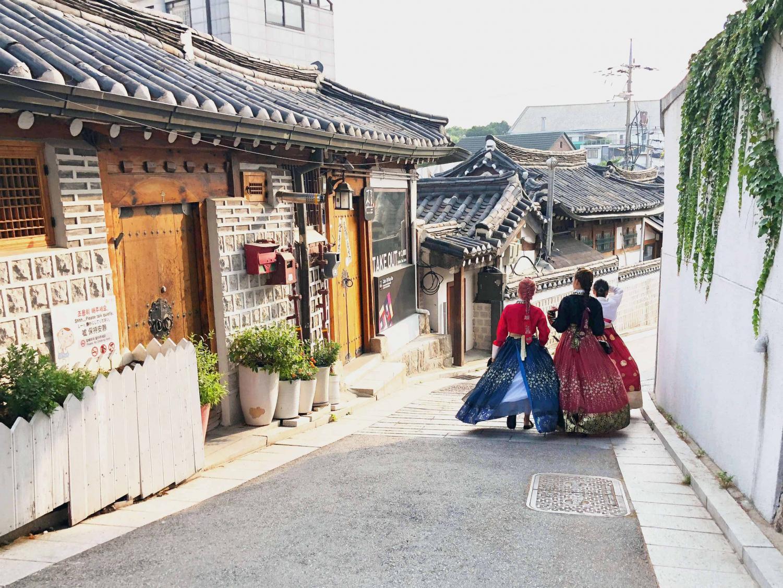 Bukcon Hanok Village. Seoul, South Korea.