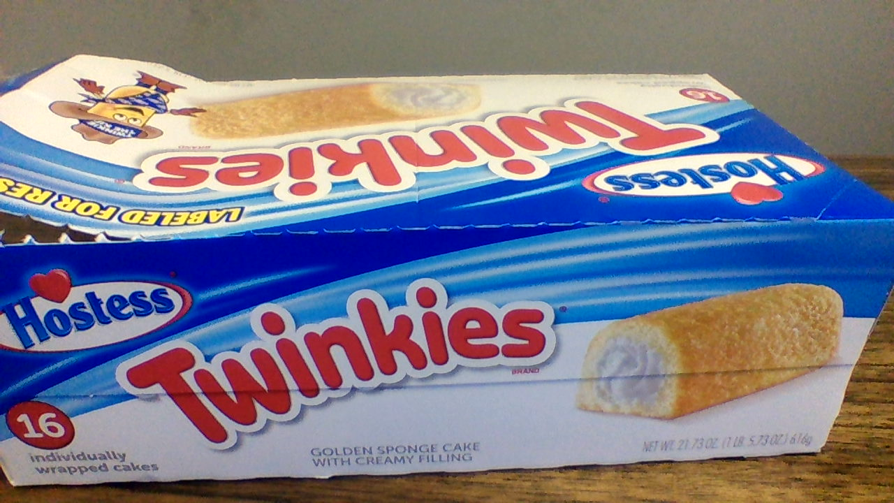 This is a Twinkies box that can be recycled.