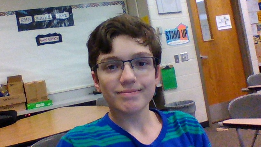 Emporia Middle School seventh-grader: Ethan