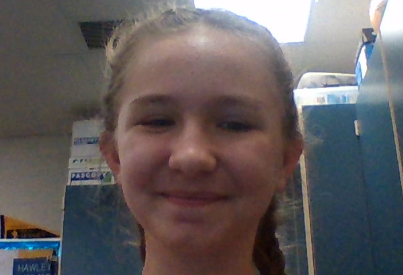This is a picture of Bailie Stair. She is a 7th grader that attends EMS.