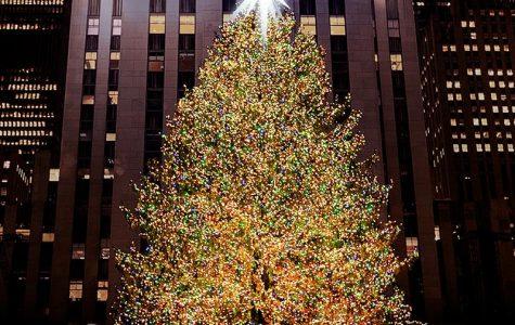 The big tree in Rockefeller Center
