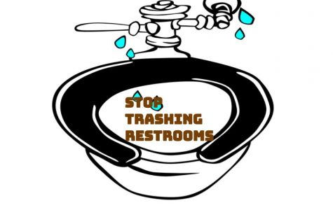 Stop Trashing Restrooms