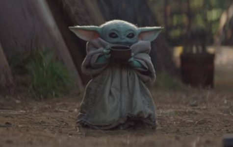 This is the new and cute Baby Yoda