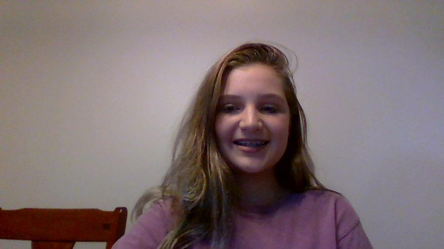 Here is a joyful Ava Tyson