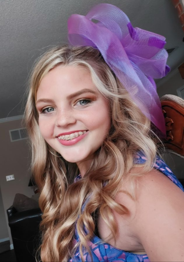 Paige Newland 7th grader at EMS