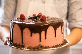 Here is a delicious chocolate cake