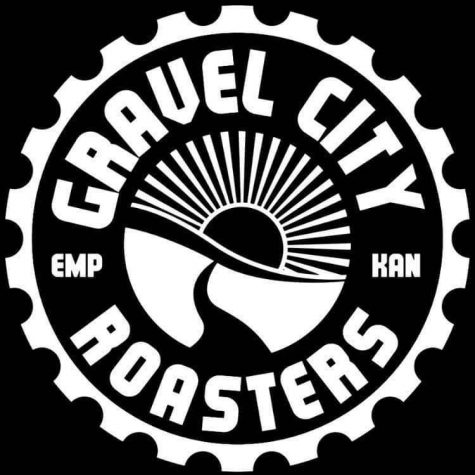 This is the logo of Gravel City Roasters.