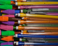 All sorts of pencils to use