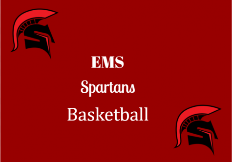 EMS 7th grade basketball had their first game on January 12, 2021.