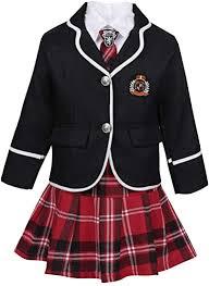 No school uniforms
