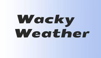 Wacky weather in Emporia, Kansas is really random!