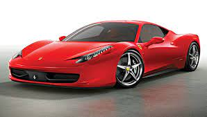 This is a Ferrari which is a really fast sports car.