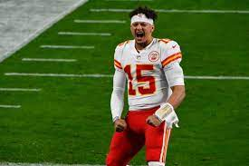 This is the former Chiefs quarterback Patrick Mahomes.